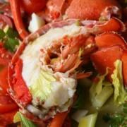 Deluxe Lobster Salad - Lobster approx. 2kg - Fruit Salad approx. 5lbs - Tsim Sha Tsui