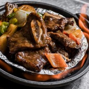 Braised Calf Ribs & Pig Liver in Sizzling Claypot - Tsim Sha Tsui